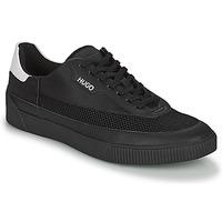 Chaussures Homme Baskets basses HUGO ZERO TENN Noir