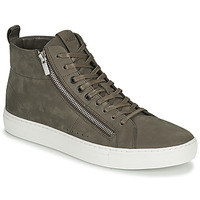 Chaussures Homme Baskets montantes HUGO FUTURISM HITO Taupe