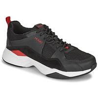 Chaussures Homme Baskets basses HUGO Block_Runn_mepu Noir