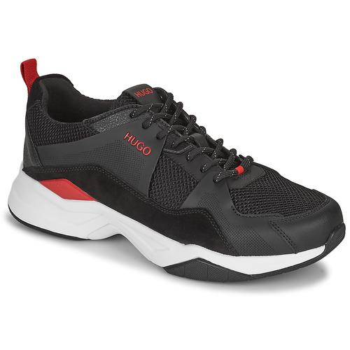 Chaussures Homme Baskets basses HUGO BLOCK RUNN Noir
