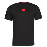 Vêtements Homme T-shirts manches courtes HUGO DIRAGOLINO Noir / Rouge
