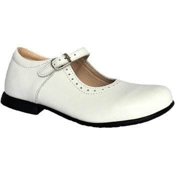 Chaussures Fille Ballerines / babies Bopy Savenay Blanc