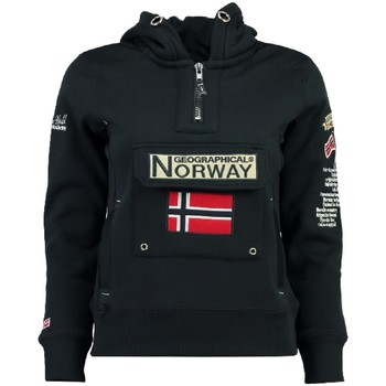 Vêtements Fille Sweats Geographical Norway Sweat Fille Gymclass New A100 Bleu