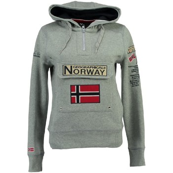 Vêtements Fille Sweats Geographical Norway Sweat Fille Gymclass New A100 Gris