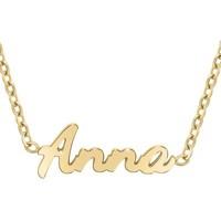 Montres & Bijoux Femme Colliers / Sautoirs Sc Crystal B2689-DORE-ANNA Doré