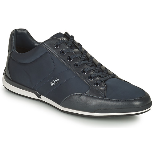 Chaussures Homme Baskets basses BOSS SATURN LOWP NYST Marine