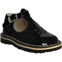Chaussures Fille Ballerines / babies Aster Bimbo Marine vernis