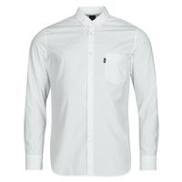 Vêtements Homme Chemises manches longues BOSS MAGNETON Blanc