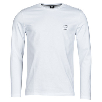 Vêtements Homme T-shirts manches longues BOSS TACKS Blanc