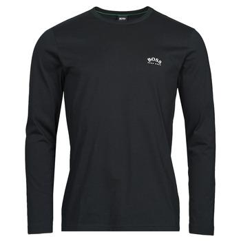 Vêtements Homme T-shirts manches longues BOSS TOGN CURVED Noir