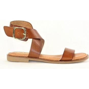 Chaussures Femme Sandales et Nu-pieds Kaola 793F CAMEL COGNAC