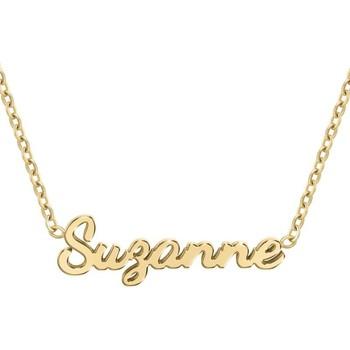 Montres & Bijoux Femme Colliers / Sautoirs Sc Crystal B2689-DORE-SUZANNE Doré