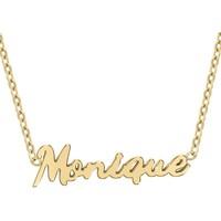 Montres & Bijoux Femme Colliers / Sautoirs Sc Crystal B2689-DORE-MONIQUE Doré