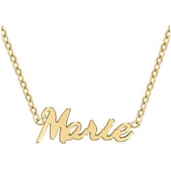Montres & Bijoux Femme Colliers / Sautoirs Sc Crystal B2689-DORE-MARIE Doré