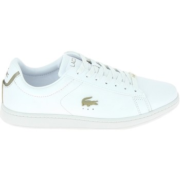 Chaussures Homme Baskets basses Lacoste Carnaby Evo Blanc Blanc