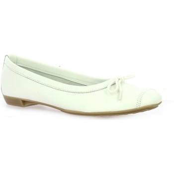 Chaussures Femme Ballerines / babies So Send Ballerines cuir Blanc