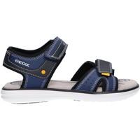 Chaussures Garçon Sandales et Nu-pieds Geox J15DRA 015BU J MARATEA Azul