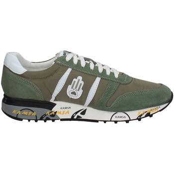 Chaussures Homme Baskets basses Kamsa PRINT VERT MILITAIRE