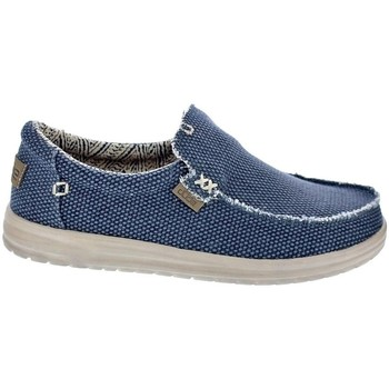 Chaussures Homme Mocassins Dude Mikka Washed Azul