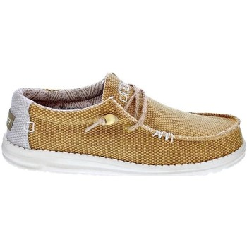 Chaussures Homme Mocassins Dude Wally Braided Beige