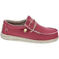 Chaussures Homme Mocassins Dude Wally Braided Rojo