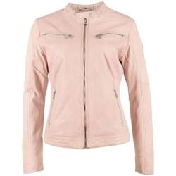 Vêtements Femme Vestes en cuir / synthétiques Gipsy CHARLEE LAORV LIGHT ROSE Rose