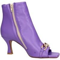 Chaussures Femme Bottines Balie Baliè 588 tronchetto Femme Violet Violet