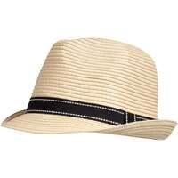 Accessoires textile Femme Chapeaux Isotoner Chapeau femme trilby Noir Surpiqué