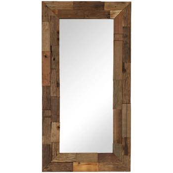 Maison & Déco Miroirs Vidaxl Miroir 50 x 110 cm Brun