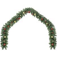 Maison & Déco Décorations de noël Vidaxl Guirlande de Noël 5 m Vert