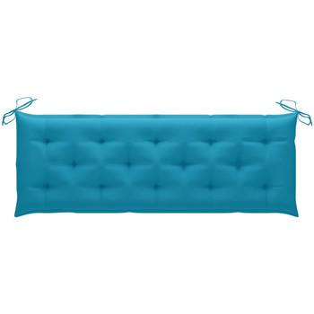 Maison & Déco Coussins Vidaxl Coussin de banc 150 x 50 x 7 cm Bleu