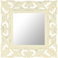 Maison & Déco Miroirs Vidaxl Miroir 50 x 50 cm Blanc
