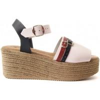 Chaussures Femme Sandales et Nu-pieds Purapiel 70213 WHITE