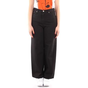 Vêtements Femme Pantalons fluides / Sarouels Roy Rogers P21RND091P3211755 NOIR