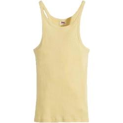 Vêtements Femme Débardeurs / T-shirts sans manche Levi's GIALLA Jaune