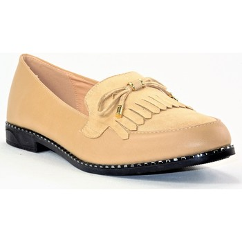 Chaussures Femme Mocassins Cink-me DM-LU02 BEIGE ABRICOT