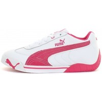 Chaussures Fille Baskets basses Puma Speed Cat 2.9 Lo Jr Blanc