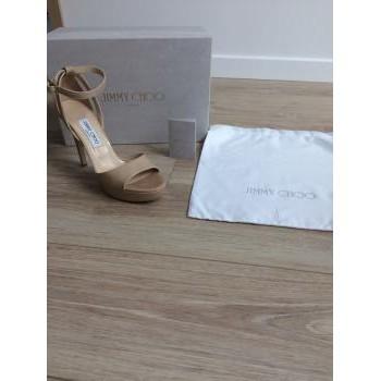 Chaussures Femme Sandales et Nu-pieds Jimmy Choo Sandales Jimmy Choo Beige
