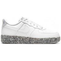Chaussures Enfant Baskets basses Nike AIR FORCE 1 KSA (PS) / BLANC Blanc
