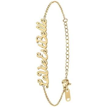 Montres & Bijoux Femme Bracelets Sc Crystal B2694-DORE-LAVIEESTBELLE Doré
