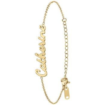 Montres & Bijoux Femme Bracelets Sc Crystal B2694-DORE-CATHERINE Doré