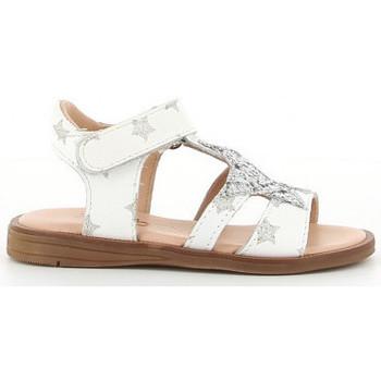 Chaussures Fille Sandales et Nu-pieds Acebo's 3149 PE blanco blanc