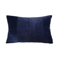 Maison & Déco Coussins Present Time RIBBED Bleu nuit