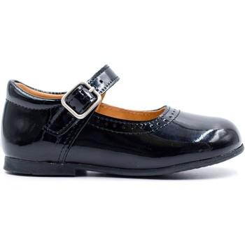 Chaussures Fille Ballerines / babies Boni & Sidonie Babies premiers pas en cuir vernis - CATIA Vernis Noir