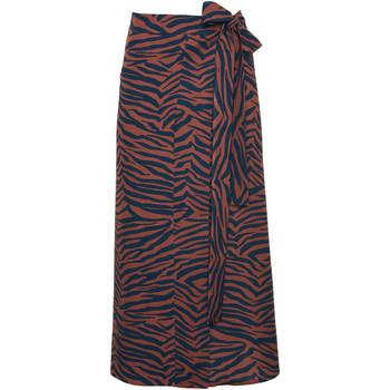 Vêtements Femme Jupes Lisca Jupe estivale portefeuille Lima Marron