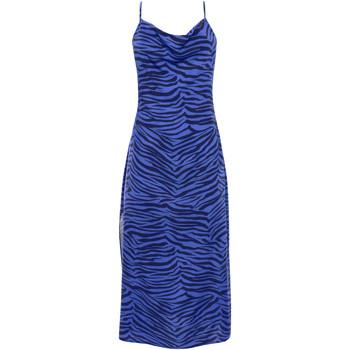 Vêtements Femme Robes longues Lisca Robe estivale mi-longue fines bretelles Lima Bleu