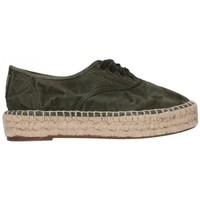 Chaussures Homme Espadrilles Natural World 687E  622 Mujer Kaki vert