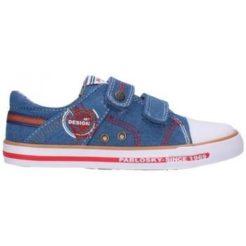Chaussures Garçon Baskets mode Pablosky 962310 Niño Jeans bleu