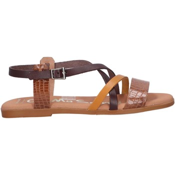Chaussures Femme Sandales et Nu-pieds Oh My Sandals 4812-HY62CO Marr?n