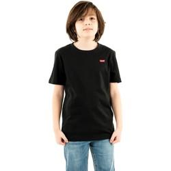 Vêtements Garçon T-shirts manches courtes Levi's batwing chest hit 023 black noir